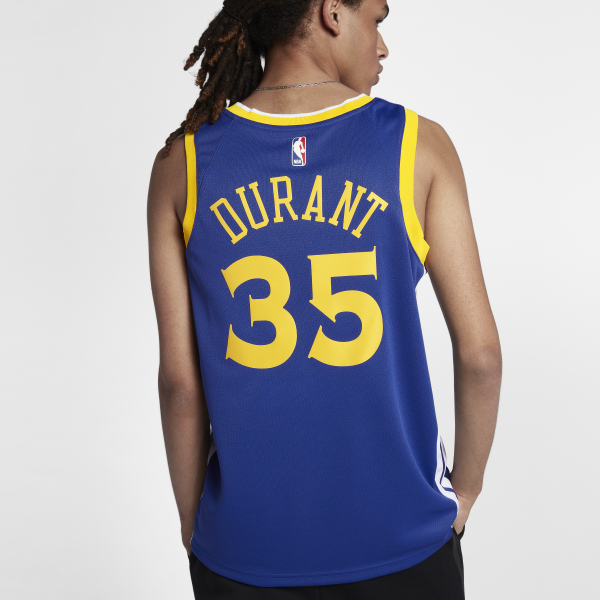 Nike Kevin Durant Golden State Warriors Icon Edition Swingman Jersey ... 9f6e2ea185a