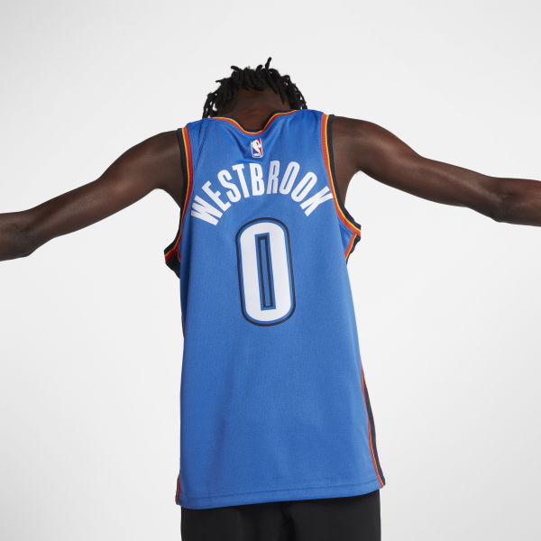 new arrival 60f45 0ca75 Nike Russell Westbrook Oklahoma City Thunder Icon Edition ...