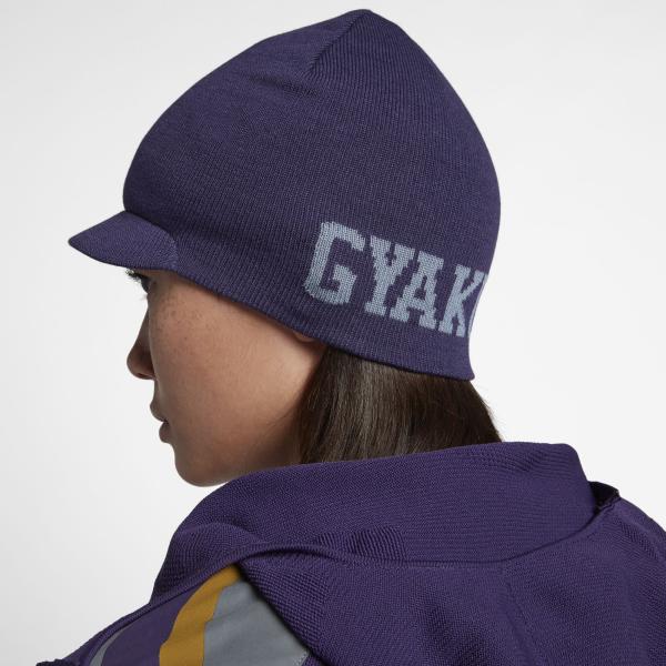 WARMTH ON THE GO. The NikeLab Gyakusou Knit Hat ... 1314b148c34f